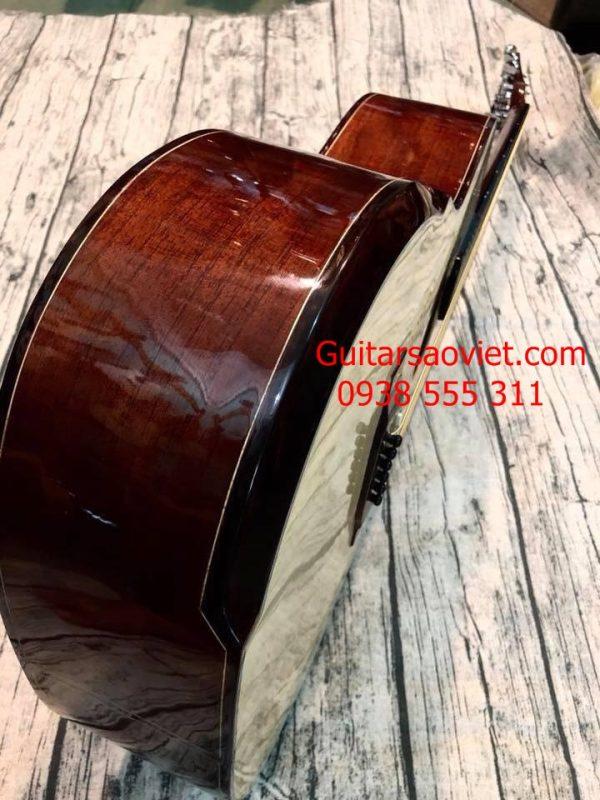 Guitar Acoustic gỗ thịt có vát bavel chống cấn tay