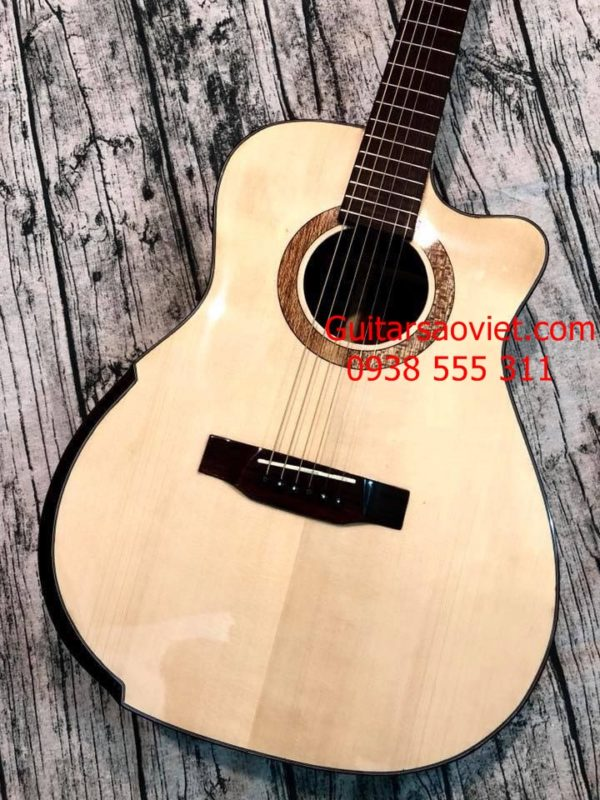 Guitar Acoutsic HD-V18SV
