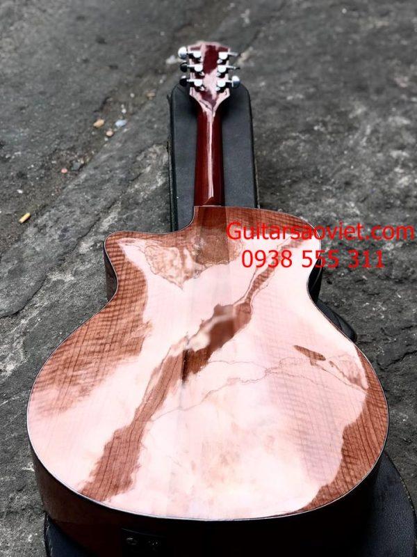 Guitar Acoustic Custom còng cườm