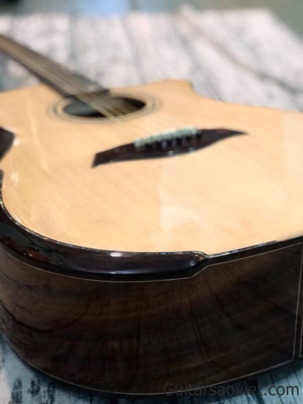 Guitar Acoustic gỗ Điệp D-V2SV