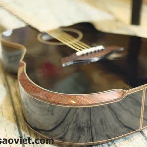 Guitar Acoutsic HD-V18SV màu đen